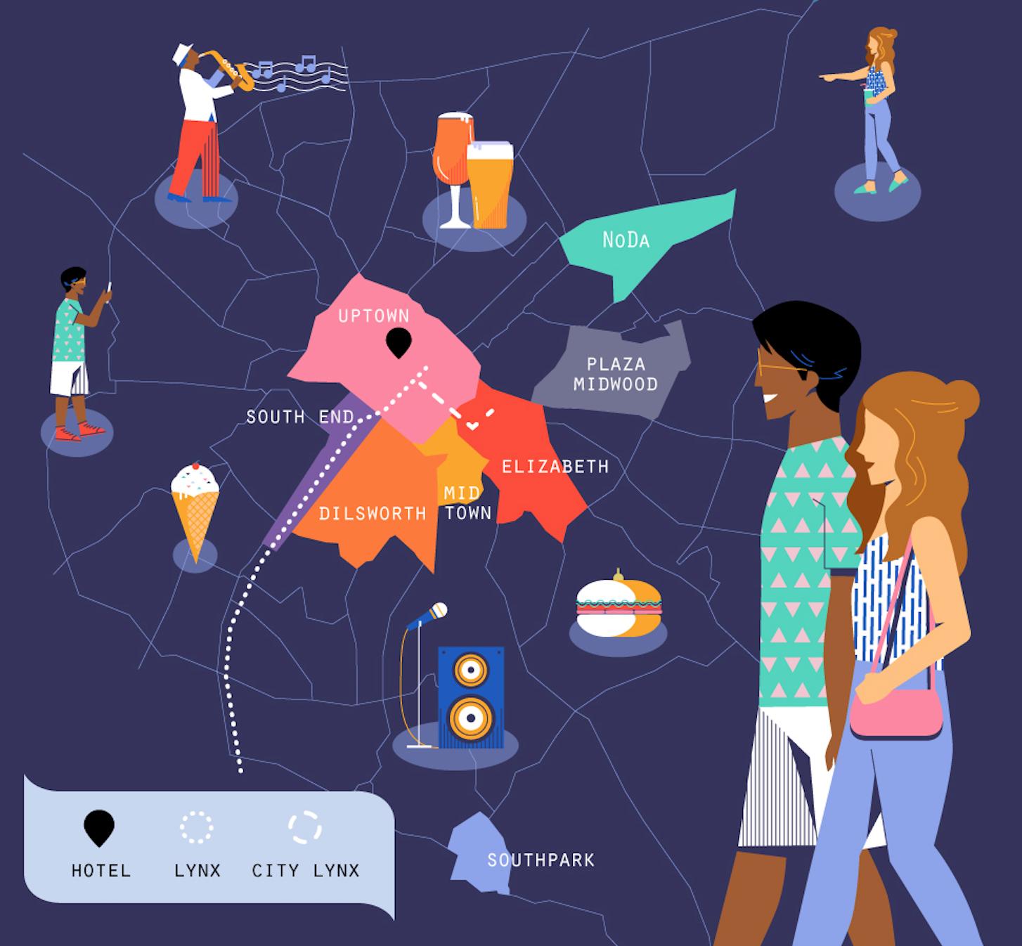 Uniquely Charlotte: A Neighborhood Guide | Charlotte Marriott City Center