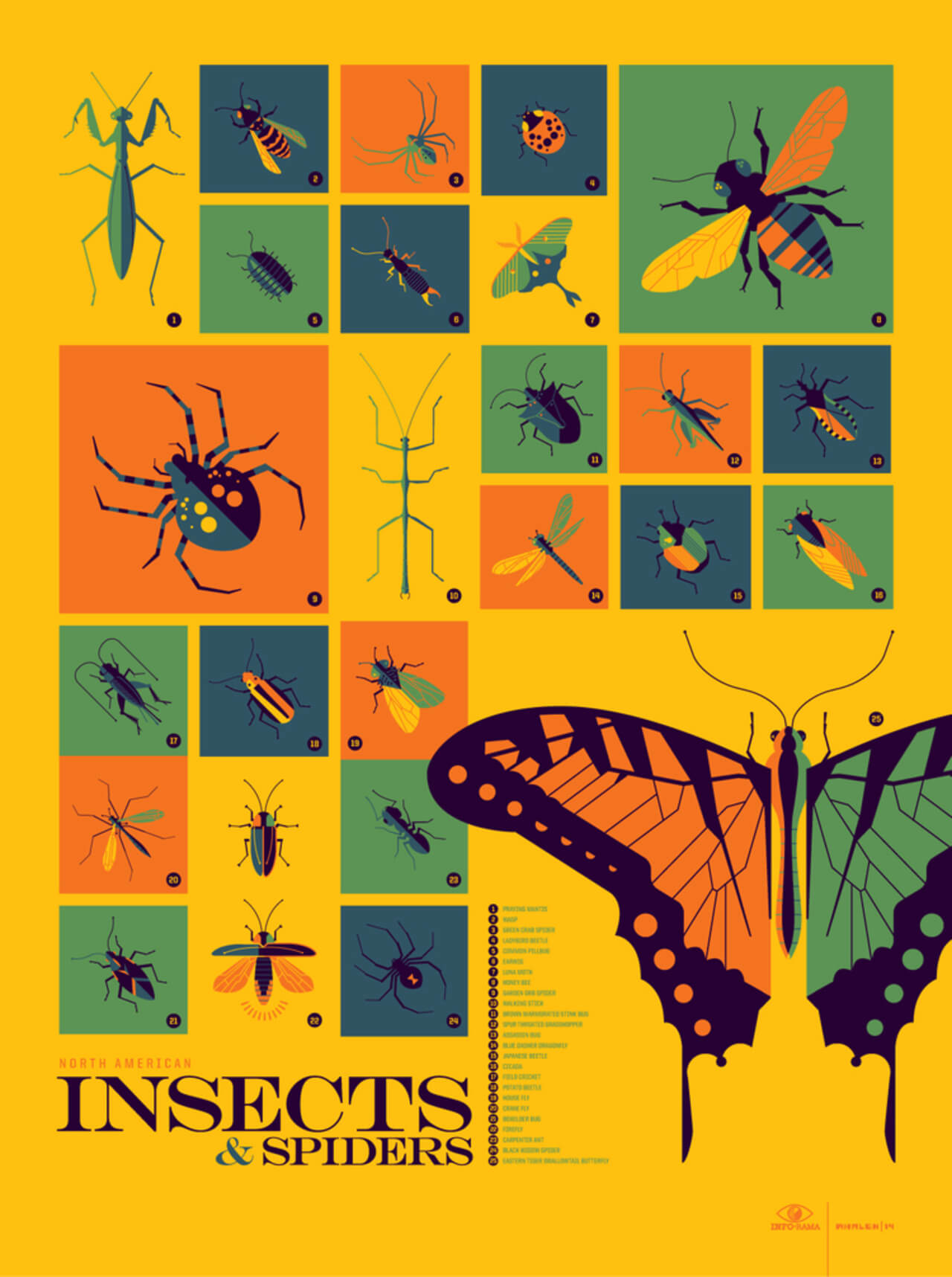 Best Infographics: Inforama Insects