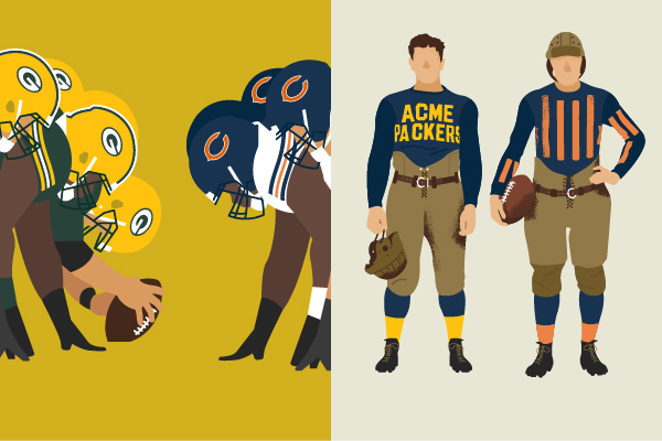 Packers vs. Bears | NFL's Most Historic Rivalry