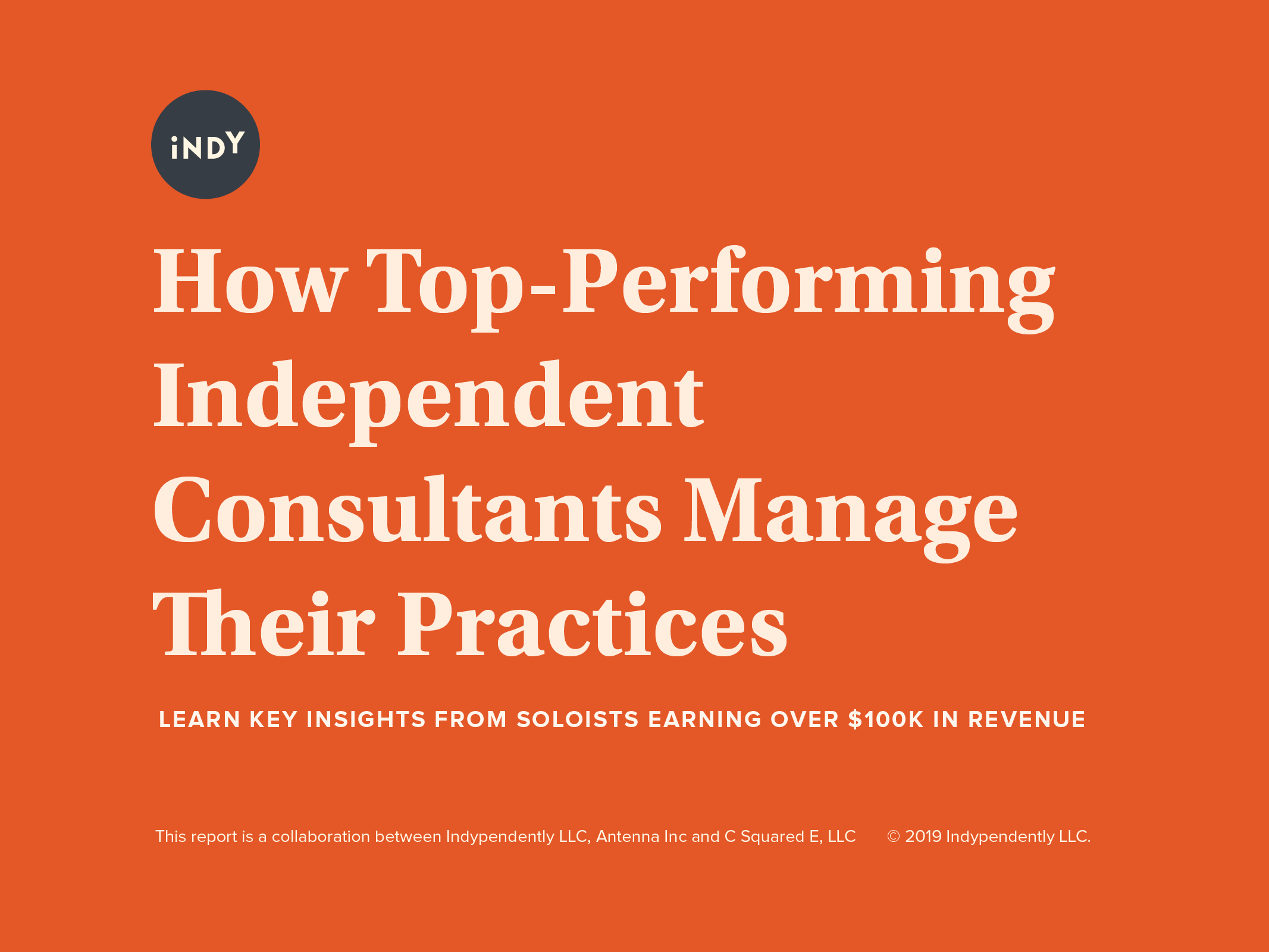How Top-Performing Independent Consultants Manage Their Practices