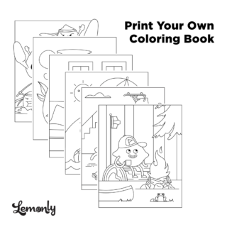 Print Your Own Lemonly Coloring Book